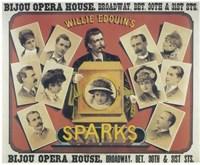 "Sparks (Broadway) - 17"" x 11"", FulcrumGallery.com brand"