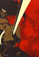 Afro Samurai Animation Fine Art Print