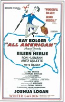 "All American (Broadway) - 11"" x 17"" - $15.49"