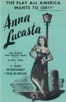 """Anna Lucasta (Broadway) - 11"""" x 17"""" - $15.49"""