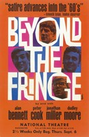"Beyond the Fringe (Broadway) - 11"" x 17"""