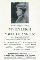 "Duel of Angels (Broadway) - 11"" x 17"""