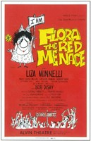 """Flora the Red Menace (Broadway) - 11"""" x 17"""""""