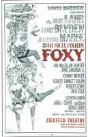 """Foxy (Broadway) - 11"""" x 17"""""""