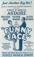 """Funny Face (Broadway) - 11"""" x 17"""""""