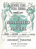 "I Married An Angel (Broadway) - 11"" x 17"""