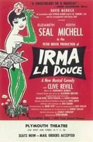 "Irma La Douce (Broadway) - The Sweetheart of Musical - 11"" x 17"""