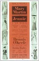 """Jennie (Broadway) - 11"""" x 17"""""""