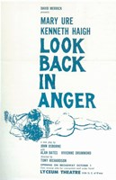 """Look Back In Anger (Broadway) - 11"""" x 17"""""""