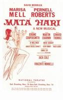 "Mata Hari (Broadway) - 11"" x 17"""