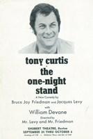 """One Night Stand (Broadway) - 11"""" x 17"""""""
