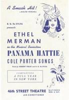 """Panama Hattie (Broadway) - 11"""" x 17"""""""