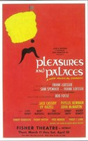 """Pleasures and Palaces (Broadway) - 11"""" x 17"""""""