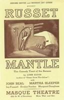 "Russet Mantle (Broadway) - 11"" x 17"" - $15.49"