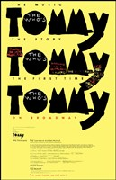 "Tommy (Broadway) - 11"" x 17"""