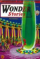 """Wonder Stories (Pulp) - 11"""" x 17"""""""