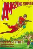 "Amazing Stories (Pulp) - yellow - 11"" x 17"""
