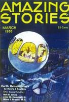 "Amazing Stories (Pulp) - blue - 11"" x 17"""