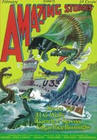 "Amazing Stories (Pulp) - sea creatures - 11"" x 17"""