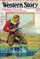 "Western Story Magazine (Pulp) - 11"" x 17"""