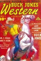 """Buck Jones Western (Pulp) - 11"""" x 17"""""""