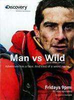 "Man vs. Wild - 11"" x 17"""