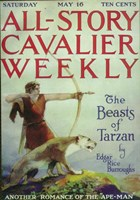 """All-Story Cavalier Weekly (Pulp) - 11"""" x 17"""""""