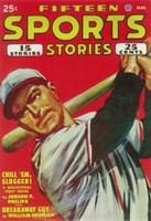 """Fifteen Sports Stories (Pulp) - 11"""" x 17"""""""