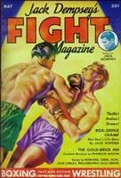 "Jack Dempsey's Fight Magazine (Pulp) - 11"" x 17"""