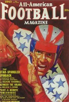 "All-American Football Magazine (Pulp) - 11"" x 17"""
