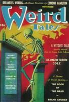 """Weird Tales (Pulp) - 11"""" x 17"""""""