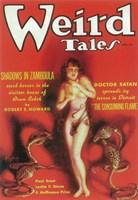 """Weird Tales (Pulp) Red - 11"""" x 17"""""""