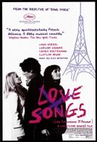 "Love Songs - eiffel tower - 11"" x 17"" - $15.49"