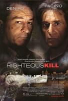 """Righteous Kill - 11"""" x 17"""" - $15.49"""
