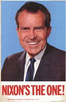 "Richard Nixon - 11"" x 17"", FulcrumGallery.com brand"