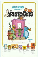 "Aristocats Movie - 11"" x 17"""