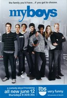 """My Boys (TV) - 11"""" x 17"""""""
