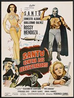 """Santo vs. the Kidnappers - 11"""" x 17"""""""