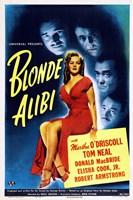 """Blonde Alibi - 11"""" x 17"""""""