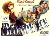 """Blonde Ice Leslie Brooks - 17"""" x 11"""""""
