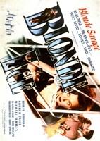 """Blonde Ice Movie 1948 - 11"""" x 17"""""""