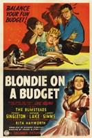 "Blondie on a Budget - 11"" x 17"""