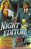 """Night Editor - 11"""" x 17"""""""