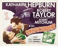 "Undercurrent movie poster - 17"" x 11"""
