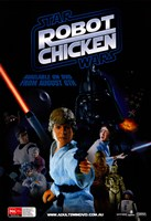 Robot Chicken: Star Wars Fine Art Print
