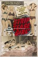 "Striptease Girl Film 1952 - 11"" x 17"""
