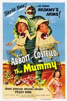 Abbott and Costello Meet the Mummy, c.1955 Fine Art Print