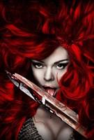 "Red Sonja - style B, 2009, 2009 - 11"" x 17"""