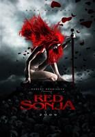 "Red Sonja - style C, 2009, 2009 - 11"" x 17"""