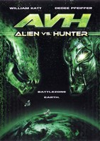 AVH: Alien vs. Hunter Framed Print